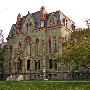 "Higher education - The University of Pennsylvania considers itself the first institution in the United States of America to use the term ""university"" in its name."
