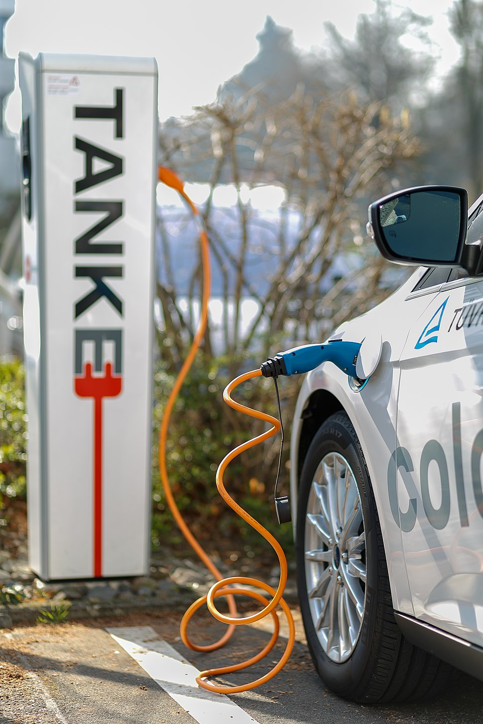 Cologne Germany Electric-Car-Charging-Point-at-TUV-Rheinland-02