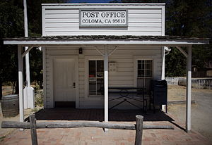 Coloma, California - Post Office