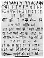 Coloured drawing of Cuneiform from the Ninevah expedition Wellcome M0004439.jpg