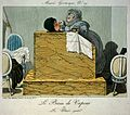 Coloured engraving; 'Le bain de vapeur, ou Wellcome L0019755.jpg