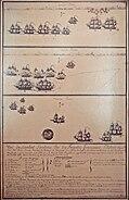 Combat de Louisbourg 21Juillet 1781Lieutenant de Fregate auxillaire Mullon