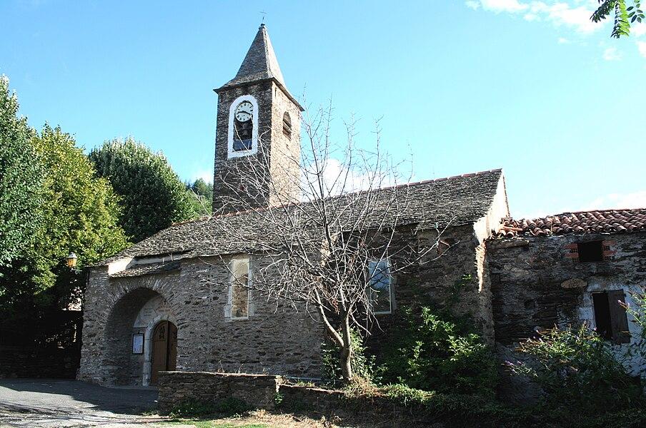 Combes (Hérault) - église Saint-Pierre-et-Saint-Paul.