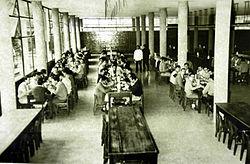 Comedor universitario unlp wikipedia la enciclopedia for Caracteristicas de un comedor