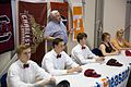 Commitment signing for 5 college bound swimmers (10962838963).jpg