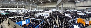 "Job hunting - Job fair for new university graduates in Japan.  See ""Simultaneous recruiting of new graduates""."