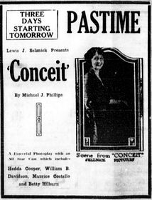 Conceit - 1922 - newspaperad.jpg