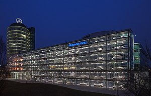Mercedes-Benz - Mercedes-Benz dealer in Munich, Germany.