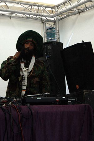 Drum and bass - Congo Natty, a ragga jungle artist