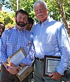 Congressman Miller with Ben-David- Bar, Executive Director of the RCC, at the Rainbow Community Center's 5th Annual Pride on the Plaza (7369943058).jpg