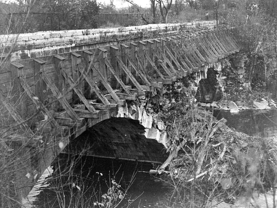 Conococheague Aqueduct repaired after Canal Closure