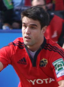 Description de l'image Conor Murray 2013 (cropped).jpg.