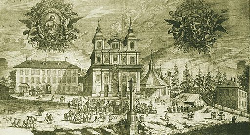 Consecration of Salzburg's Maria Plain basilica in 1674