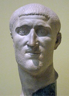 Constantius Chlorus Augustus of the Western Roman Empire