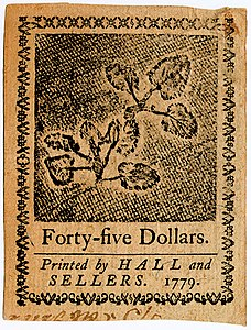 Continental Currency $45 banknote reverse (January 14, 1779).jpg
