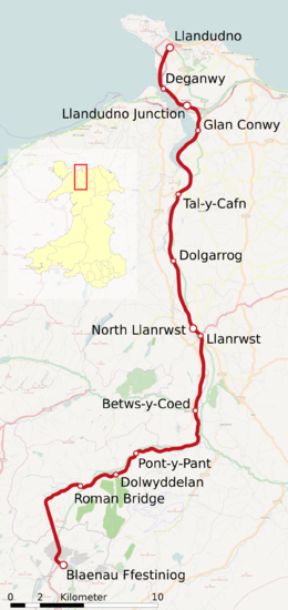 Conwy Valley Line map de.png