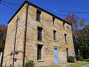 Rockford, Alabama - Image: Coosa County Alabama Jail