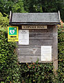 Copsale Hall ~ village hall sign at Copsale, Nuthurst, West Sussex, England.JPG