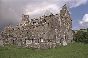 Abbey, County Clare - Corcomroe Abbey in 1996
