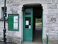 Corfe Castle Station entrance - geograph.org.uk - 886633.jpg