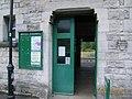 Corfe Castle Station entrance - geograph.org.uk - 886633.jpg