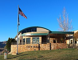 Cortez city hall, built in 2017.