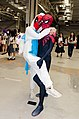 Cosplayers of Deadpool and Spiderman in Bring It On 5 20180505.jpg