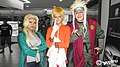 Cosplayers of Tsunade, Naruto Uzumaki, and Jiraiya at Kuantan CosWalk 20150315.jpg