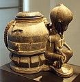 Costa d'avorio, baule, coppa divinatoria gbéklé sè, 1850-1900 ca. 01.JPG
