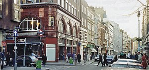 Long Acre - Long Acre pictured in 1991.