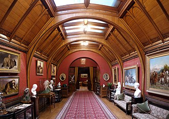 Cragside - The top-lit Gallery, formerly Armstrong's museum