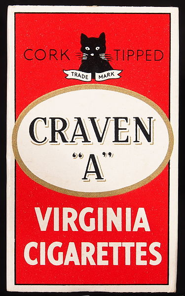 File:Craven A cigarettes small pack, front.JPG