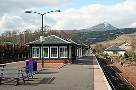 Crianlarich Station from the south.JPG