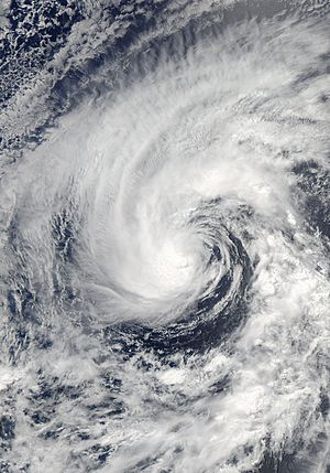 2008 Pacific hurricane season - Image: Cristina 28 jun 2008 2130Z