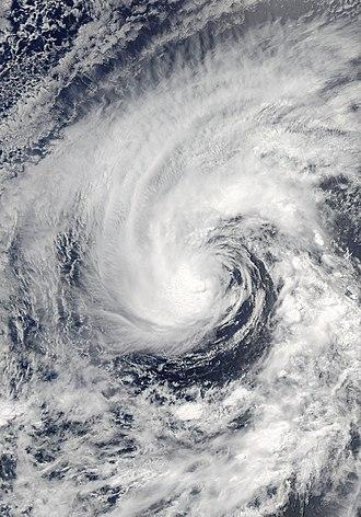 2008 Pacific hurricane season - Image: Cristina 28 jun 2008 2130Z