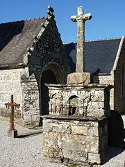 calvaire de la chapelle de Rosquelfen