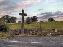 Cross at Heavenfield (geograph 3191606).jpg