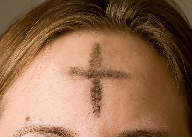 Image result for photos of ash Wednesday