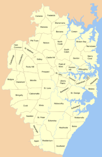 Cumberland County Parishes