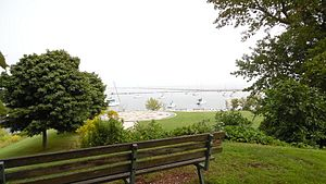 Parks of Milwaukee - View of Lake Michigan from Cupertino Park