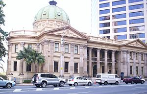 Custom house - The Customs House in Brisbane, Australia