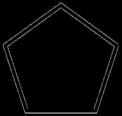 Streckformeln för cyklopentan.