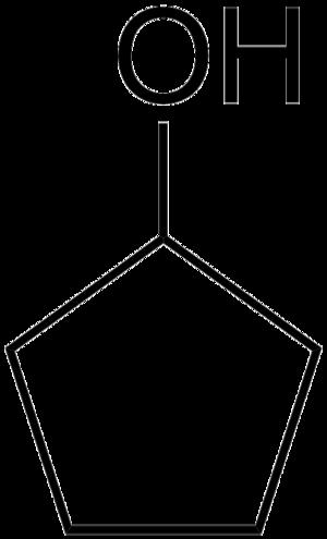 Cyclopentanol - Image: Cyclopentanol