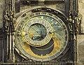 Czech-2013-Prague-Astronomical clock face 2.jpg