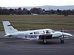 D-GMZE Piper Seneca 34 (32086059250).jpg