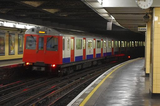 D78 Stock at Cannon Street