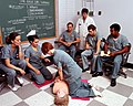 DA-ST-84-05401 Army medical personnel undergo cardio-pulmonary resuscitation training in 1977.jpeg