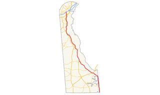 Delaware Route 1 highway in Delaware