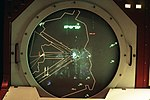DF-ST-88-04938 A view of East Germany on a radar screen inside the Berlin Air Route Traffic Control Facility at Templehof Central Airport..jpeg