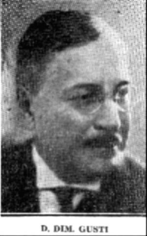 Dimitrie Gusti - Dimitrie Gusti